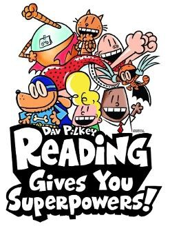Reading Gives You Superpowers Week from March 25-29