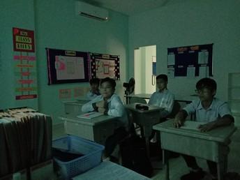 The Grade 8B students
