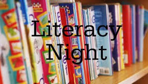 Family Literacy Night - Tuesday, 11/6, 6:30-7:30