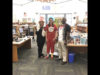 Read Across America Day at Carver MS!