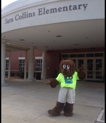 Meet Scout, our school mascot!