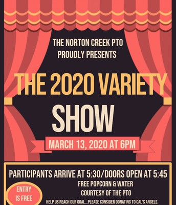Variety Show - Friday, March 13th