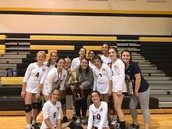 7th Grade Volleyball - Conference Champions