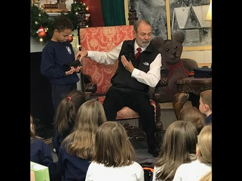 A very gratuitous thank you to Trainpops Attic for inviting our 3rd grade class to a reading of the Polar Express, and some hot chocolate!