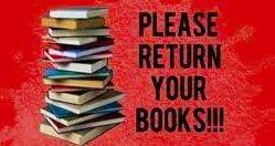 Please Return Your Textbooks