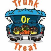 Trunk or Treat: Friday, October 27th