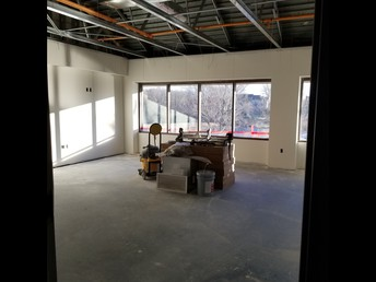 New middle school classroom