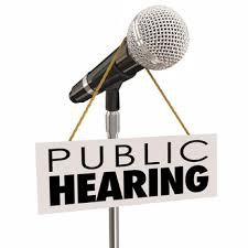 Public Hearing on Fire Prevention and Safety Bonds