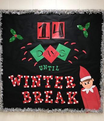 Winter Break is around the corner!