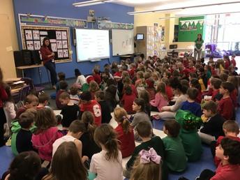 Polar Express STEM Challenge in First Grade at Avonworth Primary Center