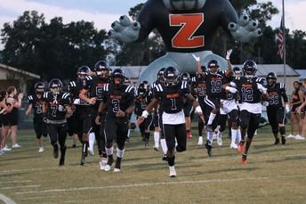 Congratulations to the ZHS Varsity Football Team