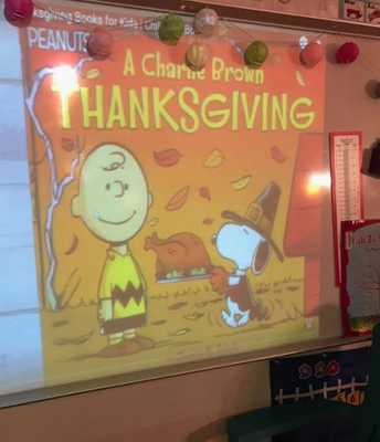 Thanksgiving in the classroom!