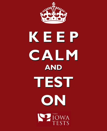 IOWA Testing - 10/22 to 10/26