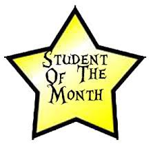 """October  """"Students of the Month"""""""