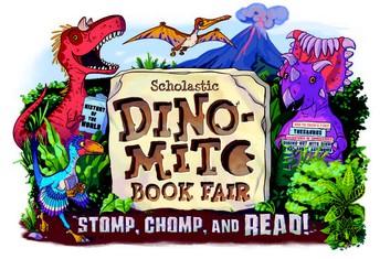 Mark Your Calendars for a Dinomite Book Fair April 17-26, 2019