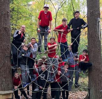 Eighth Grade Visits Camp Kern
