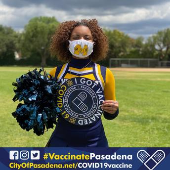 ¡Vacunas disponibles para estudiantes del PUSD de 16 años o más y sus familias!
