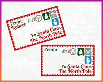 1st Grade Letters to Santa Claus