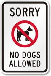 BPE is a dog free zone