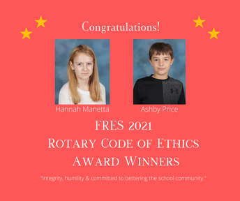 Picture of Rotary Code of Ethics Winners/Flyer