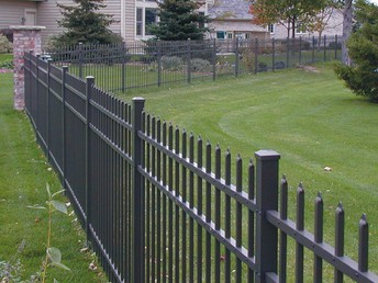 What are the great things about the timber picket fences?