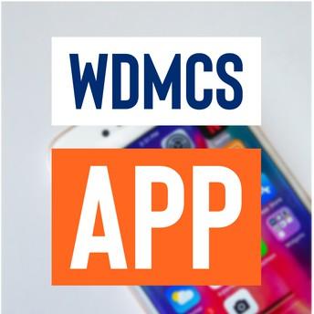 WDMCS app promo graphic