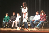 Congrats Julia for Finishing in the County Spelling Bee Top 10!
