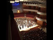 Orchestra Students at Segerstrom Hall