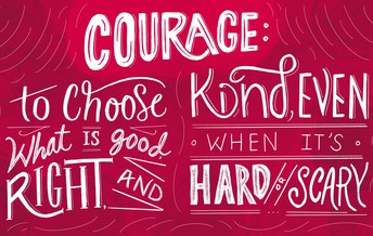 Character Trait for March: Courage