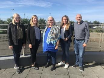 Helga M, Hanna, Edda, Helga K og Ágúst