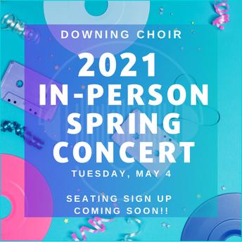 Choir Spring Concert