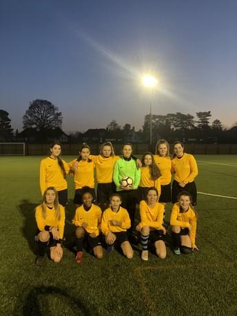 Football: U14 girls
