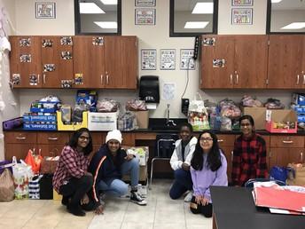 NJHS Food drive was a huge success!