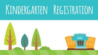 NEW! Online Registration for Kindergarten
