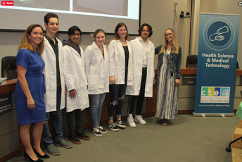 Biomed Students Honored in White Coat Ceremony