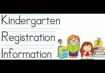 Kindergarten Registration is Happening Now!