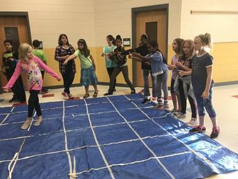 Solving a maze during Bobcat time