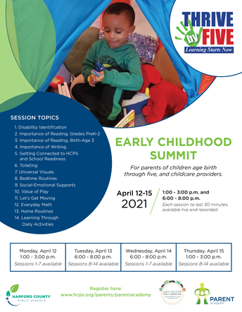Thrive By Five Early Childhood Summit