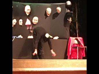 Tim Latta as The Mask Man