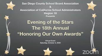 PUSD Alumni Honored by Association of California School Administrators