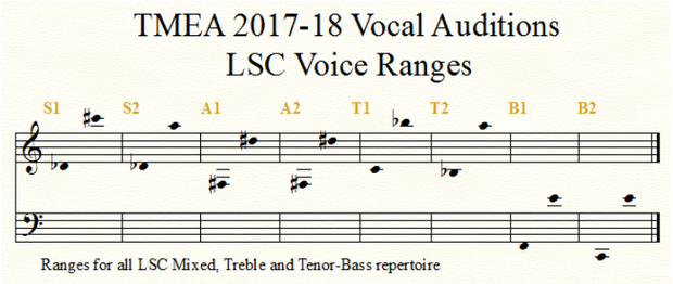 TMEA All-State Choir | Smore Newsletters for Education