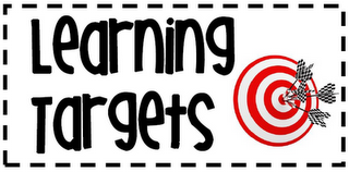 FALL READY LEARNING TARGETS