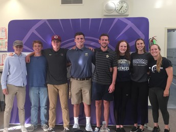 These Student Athletes are heading to college!