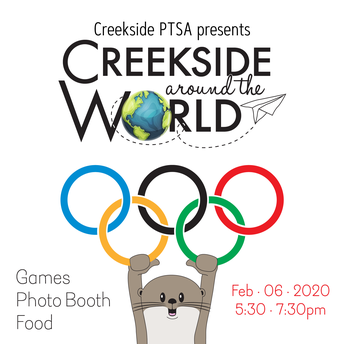 Represent Your Country at Creekside Around the World