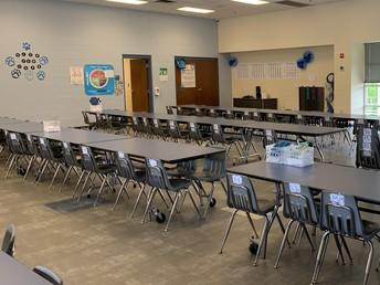 Deserted cafeterias