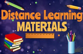 Learning Materials Pick-Up