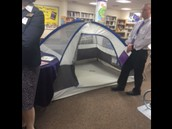 Library Reading Tent