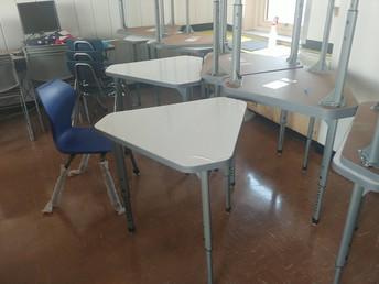 New desks!