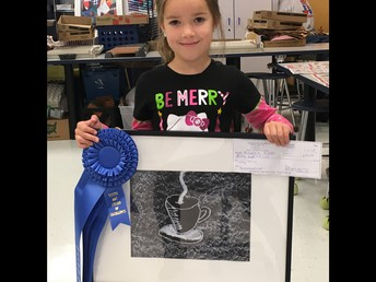 Congratulations Mikayla for winning at the Estero Art Show!