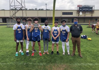 PPS Boys Track Team Places 2nd in the District
